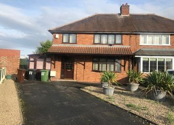 Thumbnail 3 bedroom property to rent in Sandy Crescent, Wolverhampton