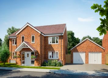 Thumbnail 4 bed detached house for sale in Back Street, Gayton, King's Lynn