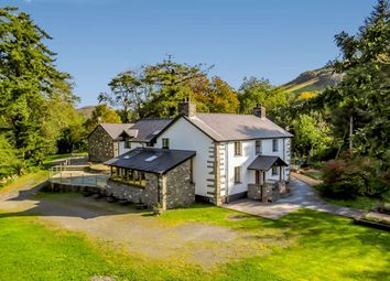 Thumbnail 5 bed country house for sale in Pennal, Machynlleth
