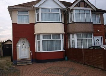 Thumbnail 3 bed semi-detached house for sale in Winchester Avenue, London