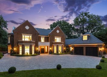 The Spinney, Queens Drive, Oxshott KT22. 5 bed detached house for sale
