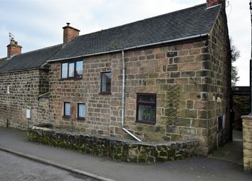 Thumbnail 3 bed cottage for sale in Chapel Street, Holbrook, Belper, Derbyshire