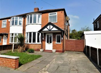 Thumbnail 3 bed semi-detached house for sale in Donnington Avenue, Cheadle, Stockport