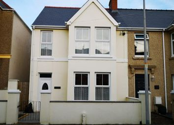 Thumbnail 4 bed semi-detached house to rent in Wellington Road, Milford Haven, Pembrokeshire