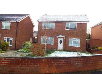Thumbnail 1 bed flat for sale in Shallmarsh Road, Bebington, Wirral