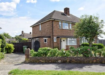 Thumbnail 2 bed semi-detached house for sale in Hawthorne Avenue, Cheshunt, Hertfordshire
