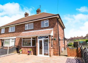 Thumbnail 3 bed semi-detached house for sale in Count Alan Road, Skegness