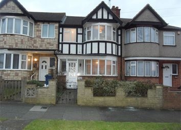 Thumbnail 3 bed terraced house to rent in Kings Road, Rayners Lane, Middlesex