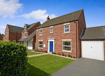 Thumbnail 4 bedroom detached house for sale in Sandwath Drive, Church Fenton, Tadcaster