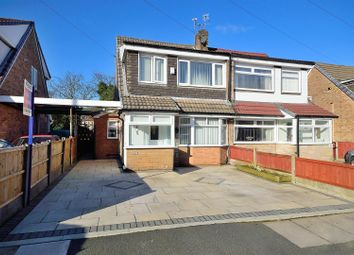 Thumbnail 3 bed semi-detached house for sale in Woolacombe Avenue, Sutton Leach, St. Helens