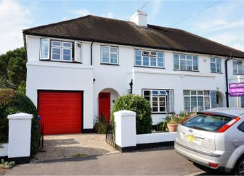 Thumbnail 4 bed semi-detached house for sale in Lassell Gardens, Maidenhead
