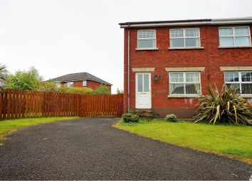 Thumbnail 3 bed semi-detached house for sale in Walnut Drive, Larne