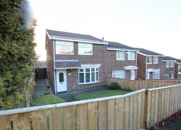 Thumbnail 3 bed semi-detached house for sale in Redlands, Penshaw, Houghton Le Spring