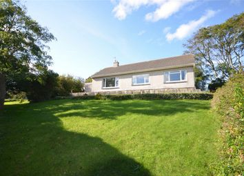 Thumbnail 3 bed detached bungalow for sale in Penwartha Road, Bolingey, Perranporth, Cornwall