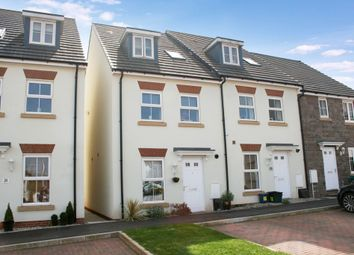 Thumbnail 4 bed end terrace house for sale in Parlour Mead, Cullompton