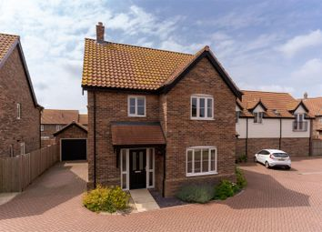 Thumbnail 3 bed detached house for sale in Minns Crescent, Poringland, Norwich