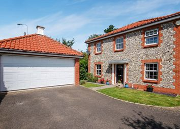 Thumbnail 4 bedroom detached house for sale in Ethelreda Drive, Thetford