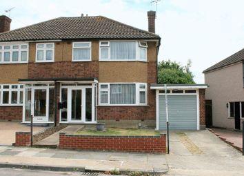Thumbnail 3 bedroom semi-detached house for sale in Glenton Way, Rise Park, Romford