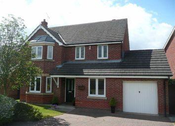 Thumbnail 4 bed detached house for sale in Snelsmoor Lane, Chellaston, Derby
