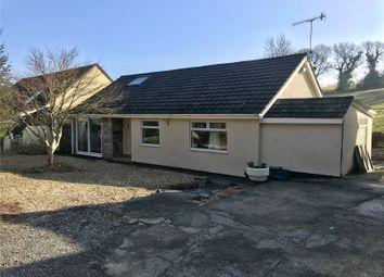 Thumbnail 4 bedroom detached bungalow for sale in Sunnydene, Valley Road, Saundersfoot, Pembrokeshire
