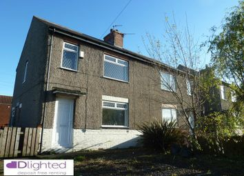 Thumbnail 3 bedroom semi-detached house to rent in Waterfield Road, East Sleekburn