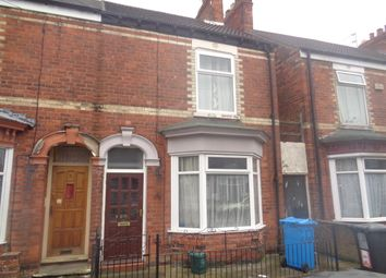 Thumbnail 3 bed end terrace house for sale in Sidmouth Street, Hull