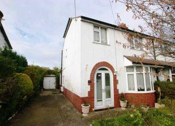Thumbnail 3 bed semi-detached house for sale in Upper River Bank, Bagillt, Flintshire.