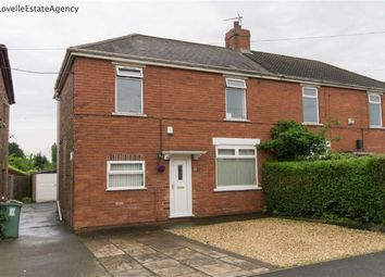 Thumbnail 2 bed semi-detached house for sale in Churchfield Road, Scunthorpe