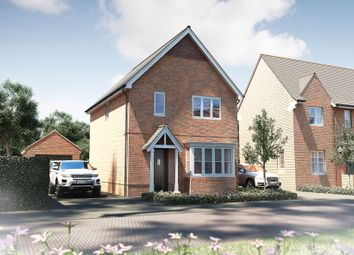 "Thumbnail 3 bedroom detached house for sale in ""The Yarkhill"" at Muggleton Road, Amesbury, Salisbury"