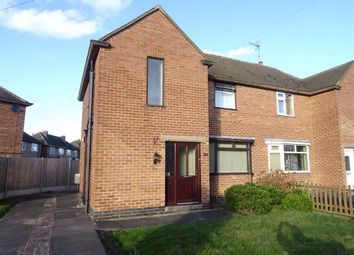 Thumbnail 3 bed semi-detached house for sale in Charnwood Road, Barwell, Leicester