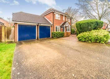 Thumbnail 4 bed detached house for sale in Alban Road, Letchworth Garden City