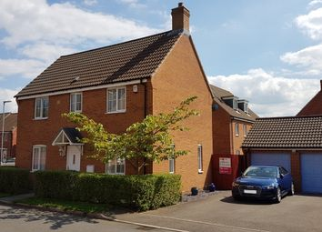 Thumbnail 4 bedroom detached house for sale in Thorneydene Gardens, Grantham