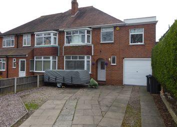 Thumbnail 4 bed semi-detached house for sale in Rednal Road, Kings Norton, Birmingham