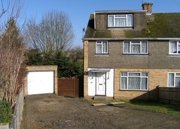 Thumbnail 4 bed semi-detached house for sale in Roberts Ride, Hazlemere, High Wycombe, Buckinghamshire