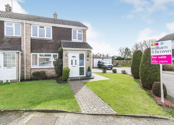 Thumbnail 3 bed end terrace house for sale in Glenside, Great Cornard, Sudbury
