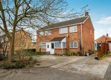 Thumbnail 3 bedroom semi-detached house for sale in West Acre Drive, Old Catton, Norwich