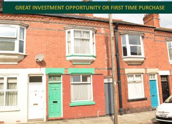 Thumbnail 3 bed terraced house for sale in Dunster Street, Westcotes, Leicester