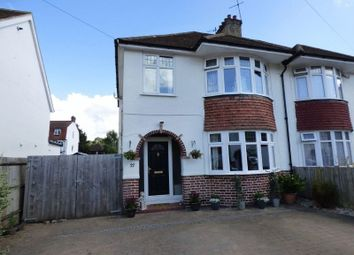 Thumbnail 3 bed semi-detached house for sale in Sunmead Close, Fetcham, Leatherhead