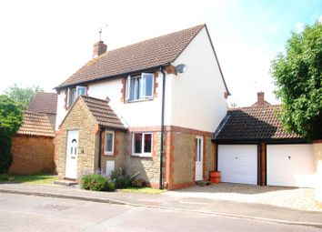 Thumbnail 3 bed detached house for sale in Rochford Close, Grange Park, Swindon