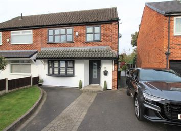Thumbnail 3 bed semi-detached house for sale in Biddall Drive, Manchester