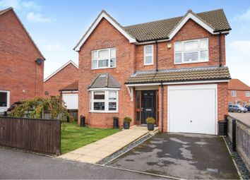 Thumbnail 4 bed detached house for sale in Edinburgh Way, Scartho Top, Scartho
