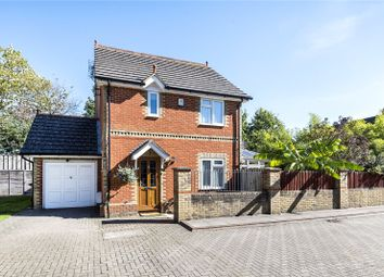 Thumbnail 3 bedroom detached house for sale in Church Mews, Station Road, Addlestone, Surrey