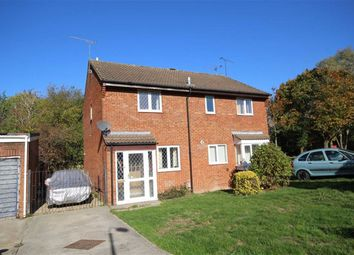 Thumbnail 2 bed semi-detached house for sale in Risingham Mead, Westlea, Swindon