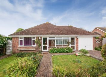 Thumbnail 3 bed detached bungalow for sale in Barcombe Close, Seaford