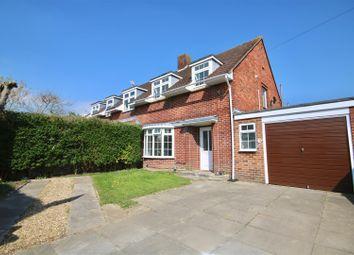 Thumbnail 3 bed semi-detached house for sale in Tregaron Avenue, Drayton, Portsmouth
