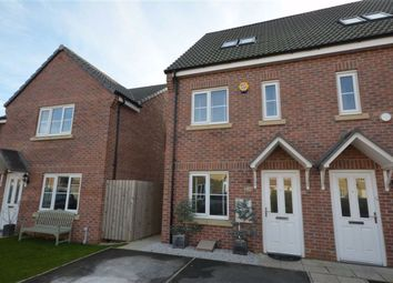 Thumbnail 3 bed town house for sale in Orchard Drive, Sherburn In Elmet, Leeds