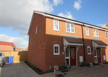 Thumbnail 2 bedroom end terrace house for sale in Sally Close, Bury St. Edmunds