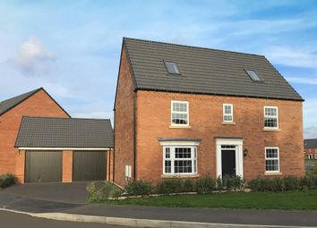 "Thumbnail 5 bed detached house for sale in ""Moorecroft"" at Mahaddie Way, Warboys, Huntingdon"