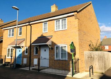Thumbnail 2 bedroom semi-detached house for sale in Meadfoot Place, Brickhill, Bedford