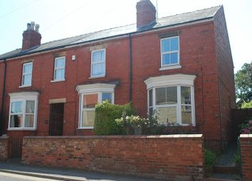 Thumbnail 3 bed semi-detached house for sale in Main Road, Washingborough, Lincoln